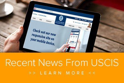 Recent News from USCIS